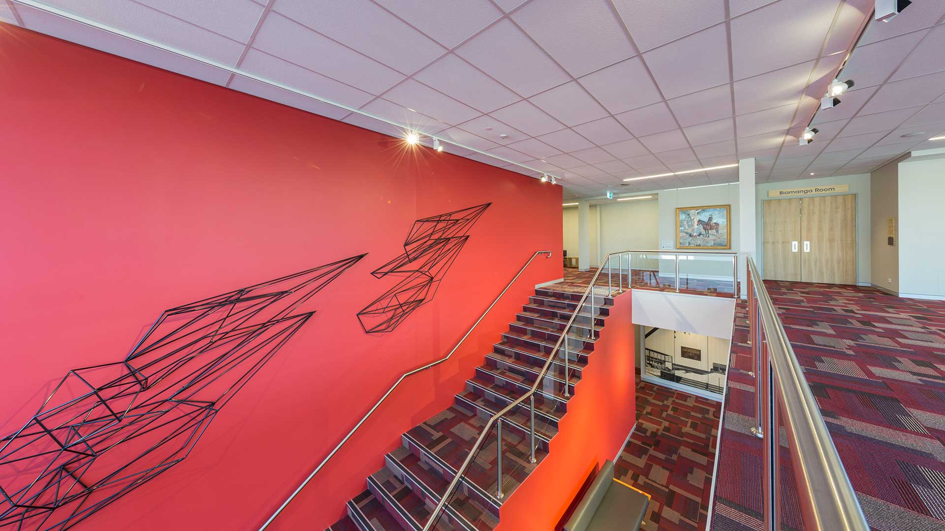 Bega Civic Centre Stairwell | Hines Constructions, Central West NSW