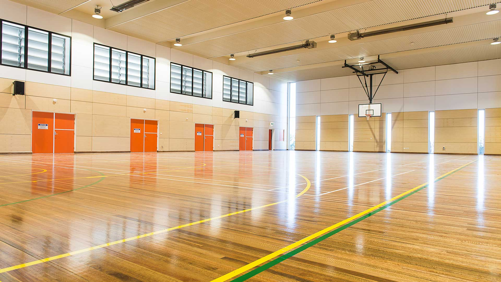 Denison College - Basketball Court | Hines Constructions, Central West NSW