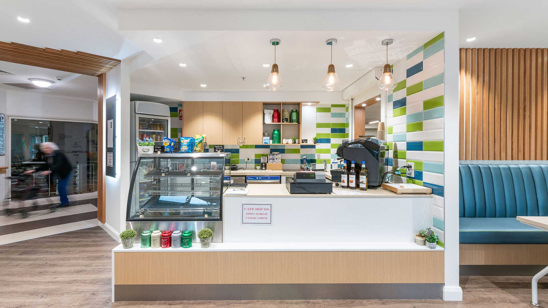 Jemalong Retirement Village - Cafe Interior | Hines Constructions, Central West NSW