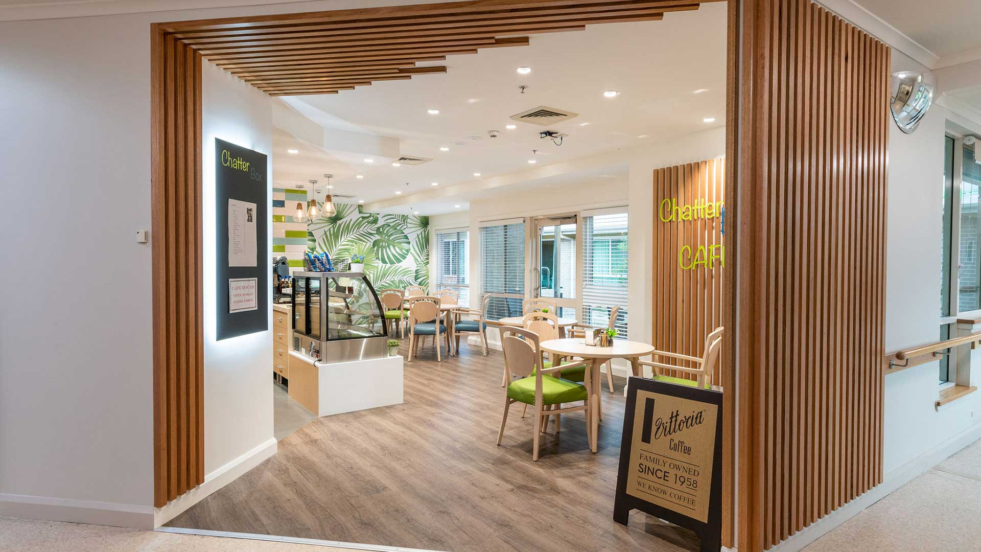 Jemalong Retirement Village - Cafe | Hines Constructions, Central West NSW