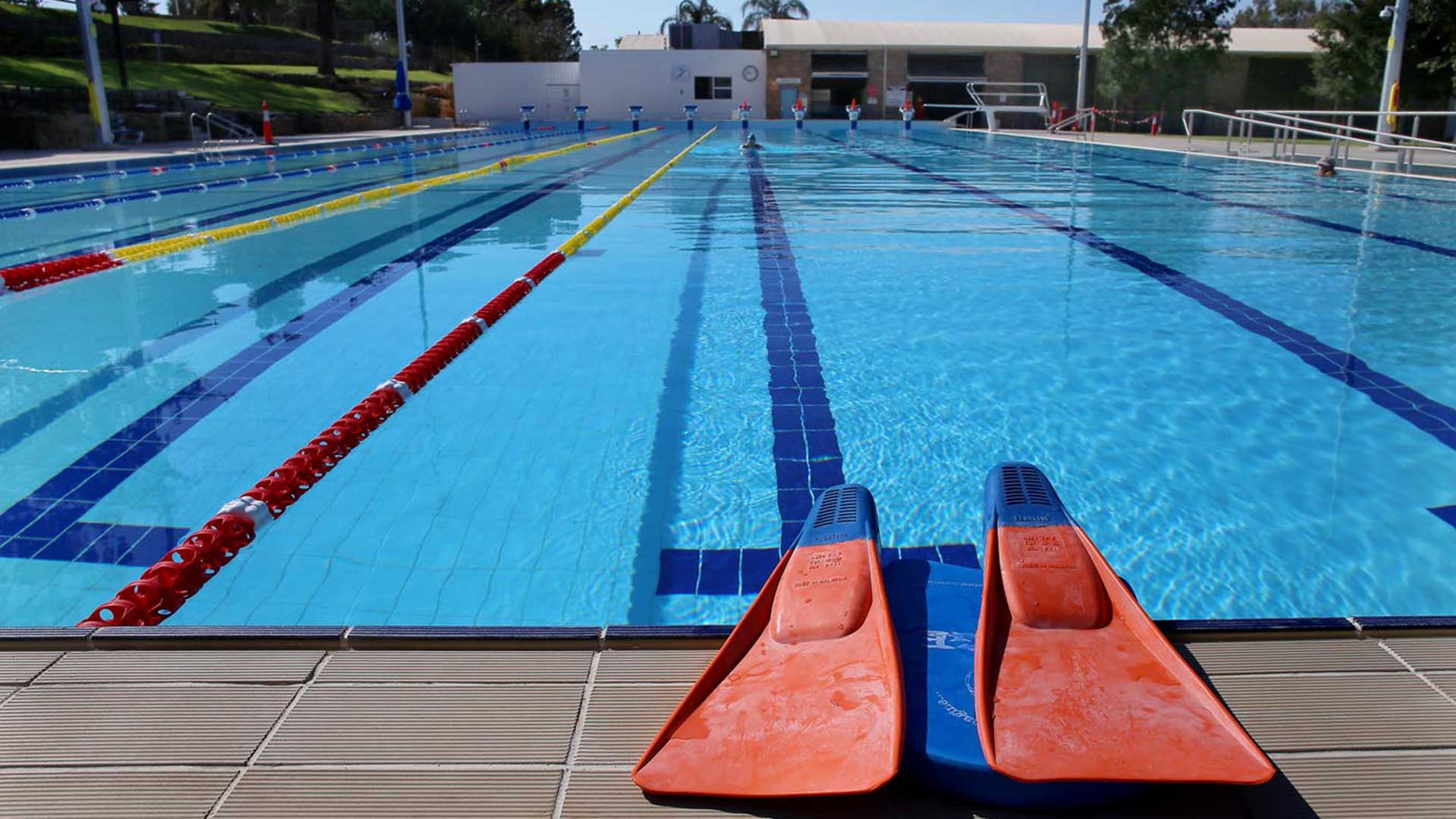 Gunnedah Memorial Pool - Pool Length | Hines Constructions, Central West NSW